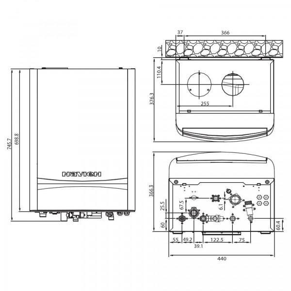 Navien NCN-32KN, Настенный конденсационный двухконтурный котёл Навьен