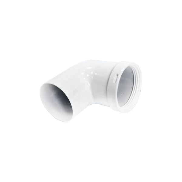 Колено Navien 90 ̊̊, Ø 80 мм, цвет - белый