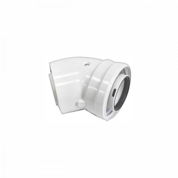 Колено Navien BCSA 1005 коаксиальное 45°, Ø60/100 мм, белый