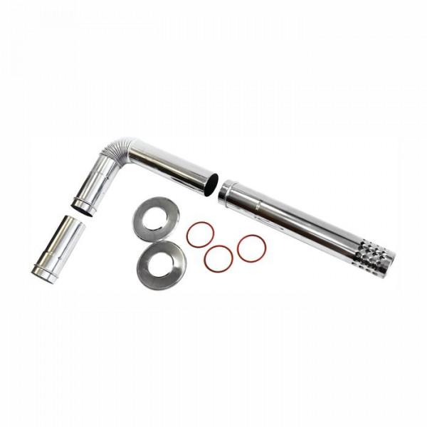 Комплект дымохода Navien BCSA 0510 для напольных котлов, серебряный