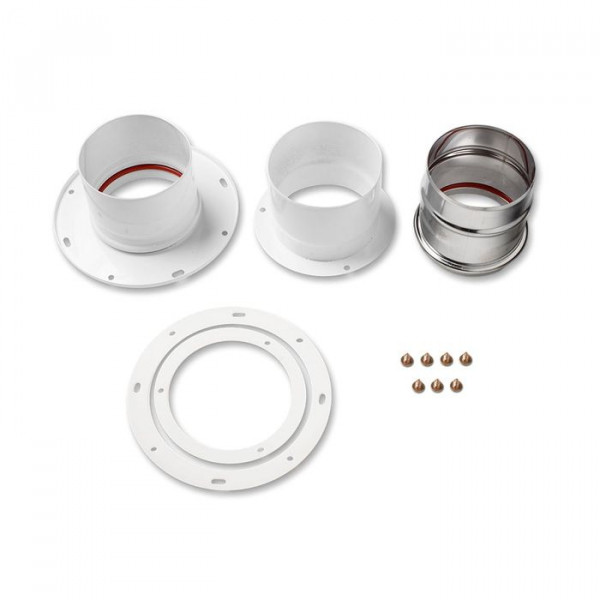 Комплект Navien BCSA 0493 для раздельной системы дымоудаления, белый