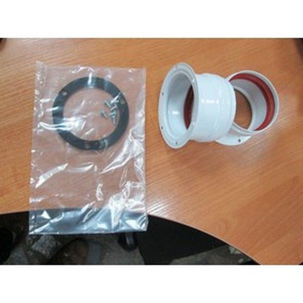 Комплект Navien BCSA 1493/0558 для раздельного дымохода, белый
