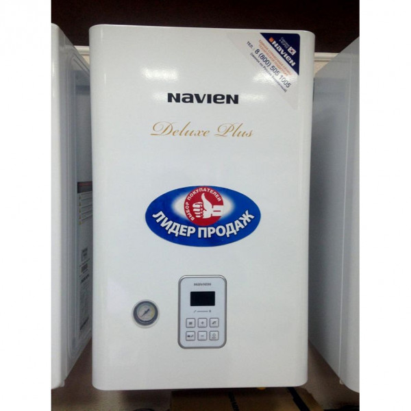Navien Deluxe plus 35K, Газовый настенный котёл Навьен