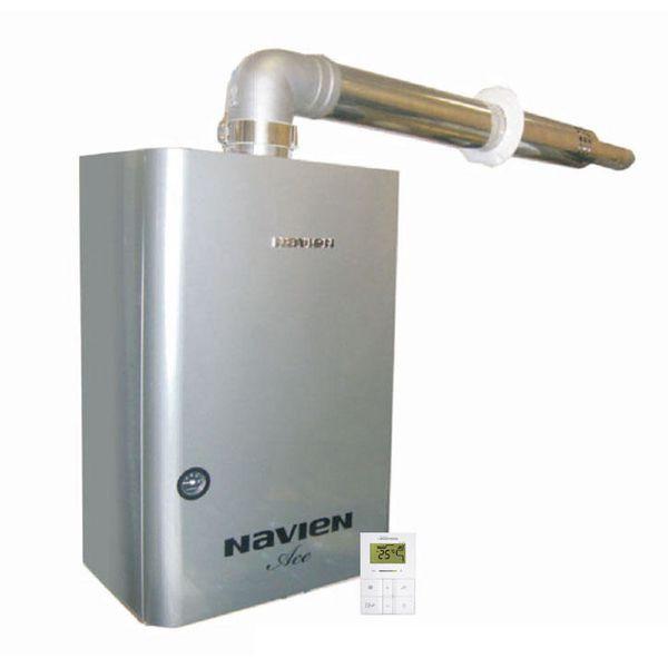 Navien Ace-24K Coaxial Silver, Газовый настенный котёл Навиен