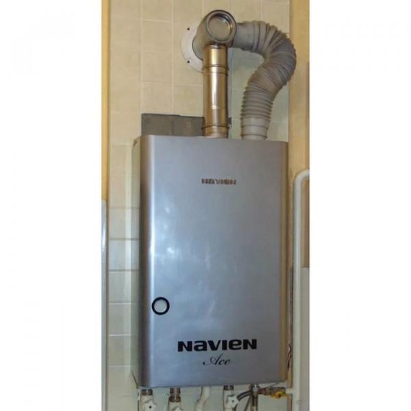 Navien Ace-13K Turbo Silver, Газовый настенный котёл Навиен
