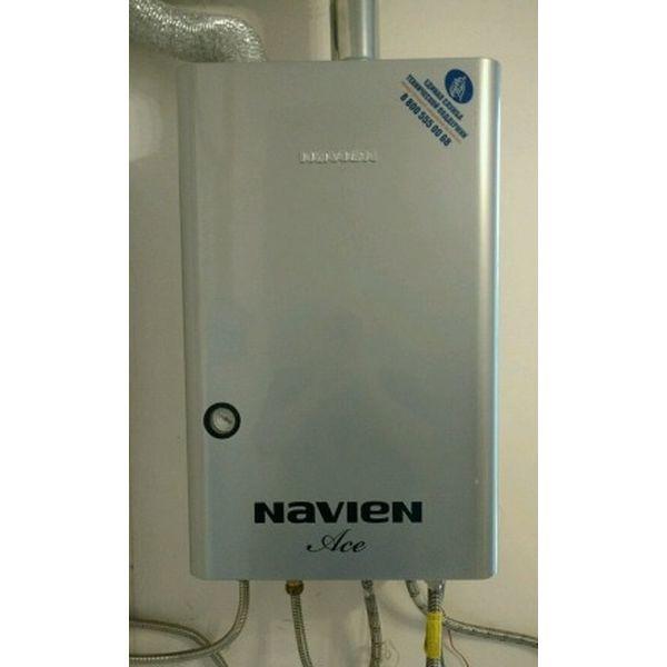 Navien Ace-40K Turbo Silver, Газовый настенный котёл Навиен