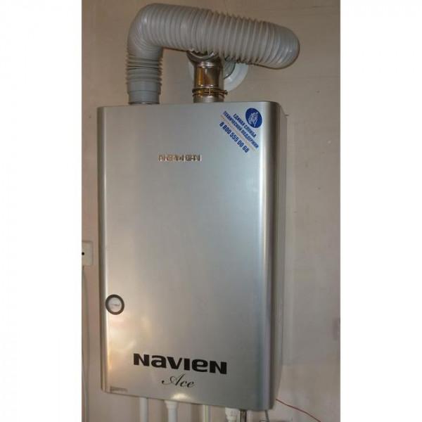 Navien Ace-16K Turbo Silver, Газовый настенный котёл Навиен