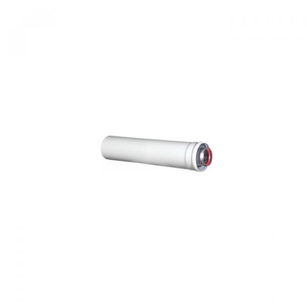 Удлинитель коаксиальной трубы Navien Ø 60/100 мм, L=250 мм, белый