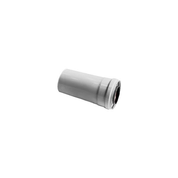 Удлинитель коаксиальной трубы Navien Ø 60/100 мм, L=250 мм, серебряный