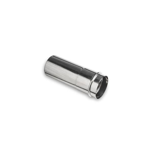 Удлинитель трубы дымохода Navien Ø 75 мм, L=250 мм, серебряный