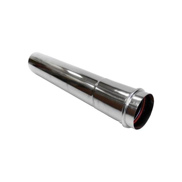 Удлинитель трубы дымохода Navien  Ø75 мм, L=800 мм, серебряный